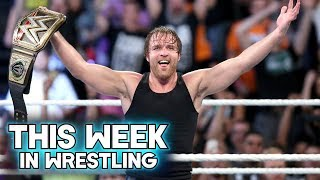 This Week In Wrestling: Dean Ambrose Wins The WWE Championship at Money In The Bank 2016 (June 18th)