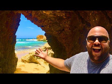 SECRET BEACH in PUERTO RICO!