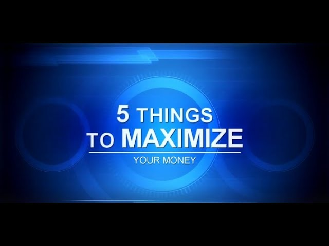 Five Things To Maximizing Your Money, with Ashley Oakes-Lazosky