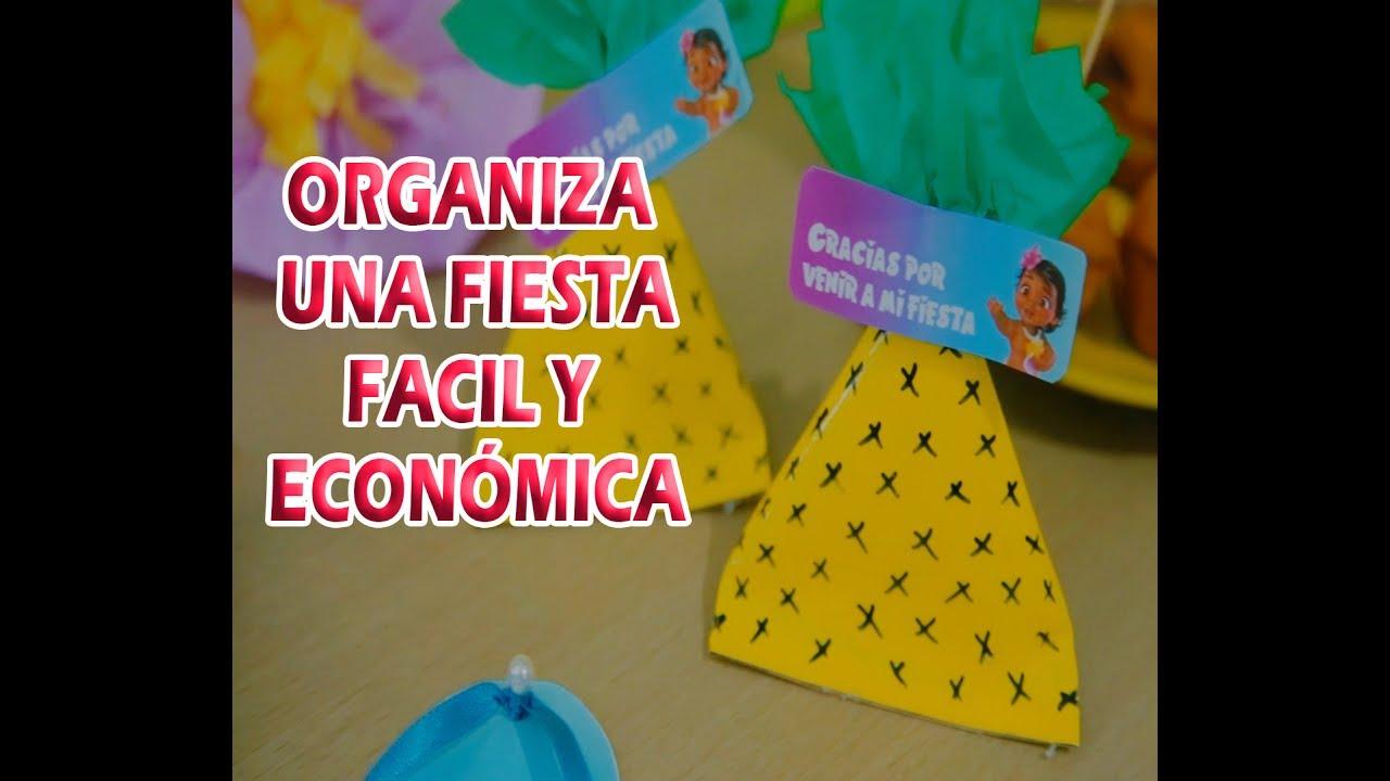 Ideas f ciles y econ micas para fiesta de moana easy ideas for moana party - Como hacer una fiesta infantil economica ...