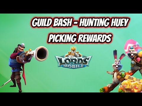 Lords Mobile - Guild Bash - Huey & Looking At Rewards