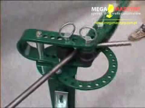 Genialny Pokaz pracy przystawki Marcosta 011 do giętarki rur 010 w sklepie XO62