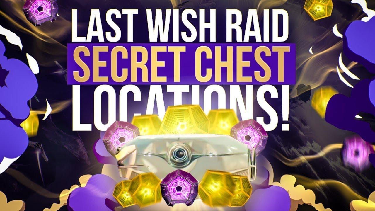 fc752682 Secret Last Wish Raid Chest Locations! Destiny 2: Forsaken First 2 Raid  Chests!