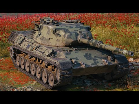 World of Tanks Leopard 1 - 5 Kills 10K Damage thumbnail