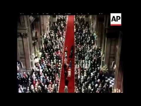 The Queen Arrives - The Wedding of Charles, Prince of Wales and Lady Diana Spencer (1981).