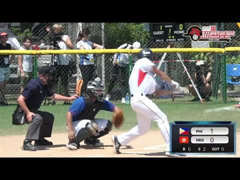 Team Philippines' Highlight Reel For The 12th BFA East Asia Baseball Cup 2018