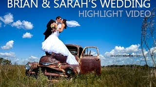 Brian & Sarah wedding in Bismarck ND By pricelessstudio.com