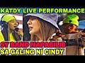 SY BAND NAPABILIB SA GALING NI CINDY 😱   Cindy & kat Live Performance - MALAYO KA MAN   Sy Staff