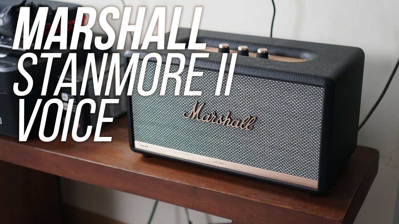 Marshall Stanmore II Voice Speakers Unboxing & First Impressions