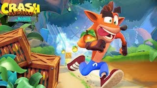 Crash Bandicoot On The Run - Gameplay Walkthrough Part 1