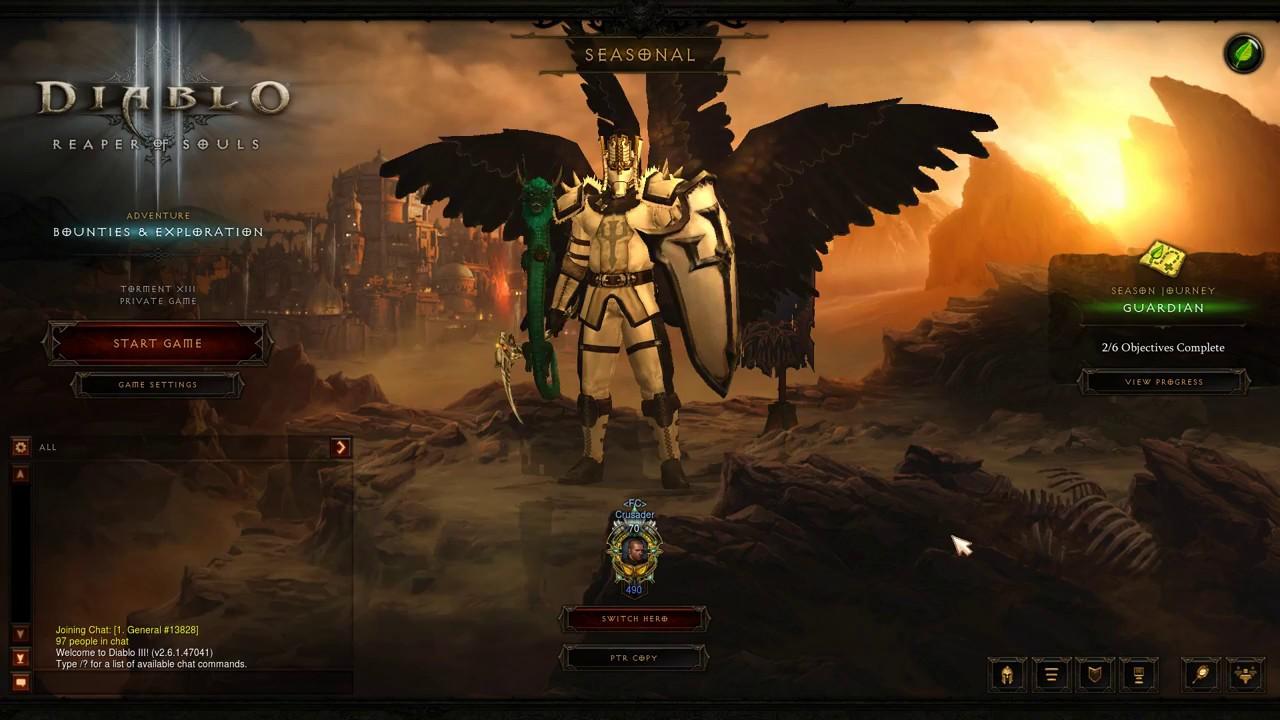Diablo 3 Season 12 - Season Journey & Conquests