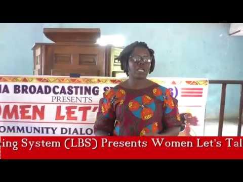 WOMEN LETS TALK COMMUNITY DIALOGUE IN KAKATA, MARGIBI COUNTY (LIBERIA)