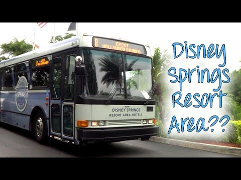 All About Disney Springs Resort Area Hotels! (But Mostly the Wyndham.)