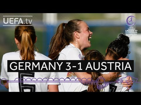 #WU17 Group stage highlights: Germany 3–1 Austria