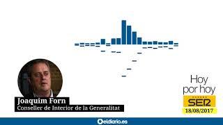 """Joaquim Forn (Conseller de Interior): """"Los terroristas de Cambrils llevaban explosivos falsos"""""""