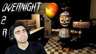 THE FINAL NIGHT IS HERE AND CHICA ISN'T IN IT! - Overnight 2: Reboot (Night 5)