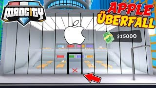 📱 *APPLE STORE ÜBERFALL* IN ROBLOX MAD CITY