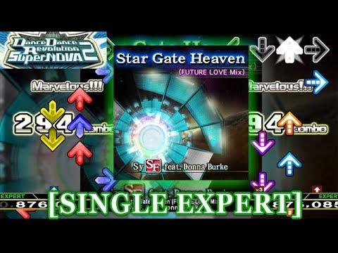 【DDR SN2】 Star Gate Heaven (FUTURE LOVE Mix) [SINGLE EXPERT] 譜面確認+クラップ