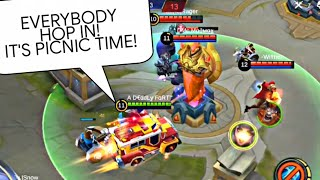 Johnson Jeepney Racer Ranked Gameplay Mythical Glory 150+🌟 | Wolf XotiC | Mobile Legends