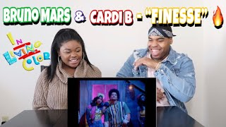 Bruno Mars - Finesse (Remix) [Feat. Cardi B] [Official Video] REACTION!!!!