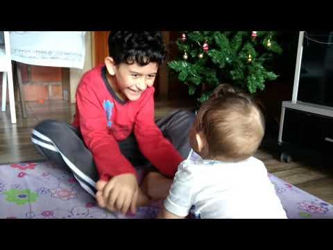 Brincando com o boy