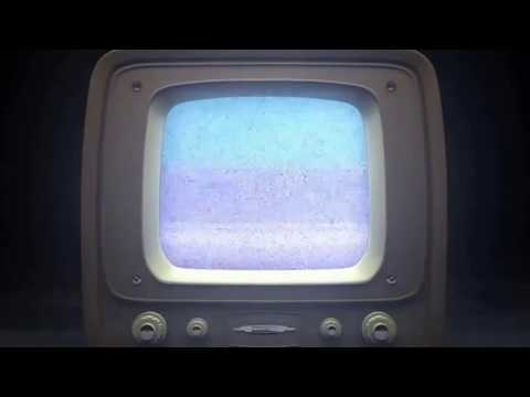 Футаж  Старый телевизор
