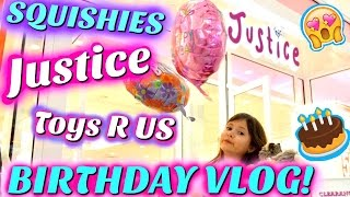 MY BIRTHDAY! JUSTICE, TOKYO WORLD, TOYS R US! Shopping Mall Vlog | Sedona Fun Kids TV