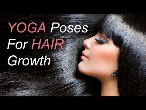 6 Yoga Poses for Hair Growth