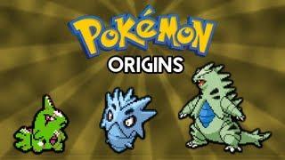 Pokemon Origins | Larvitar, Pupitar and Tyranitar