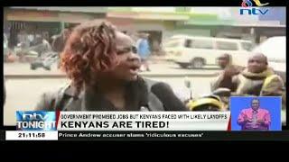 """Tumechoka!"": Kenyans express their frustration over false government promises"