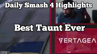 Daily Smash 4 Highlights: Best Taunt Ever