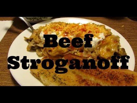 Beef Stroganoff Casserole Fritz's Way !!!