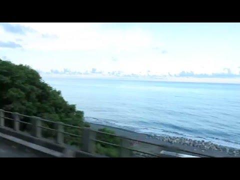 [HD] Ride the Taiwan TRA Ordinary Train no. 3672 haul by GM  (EMD G22U) R100 R125 to Fangliao