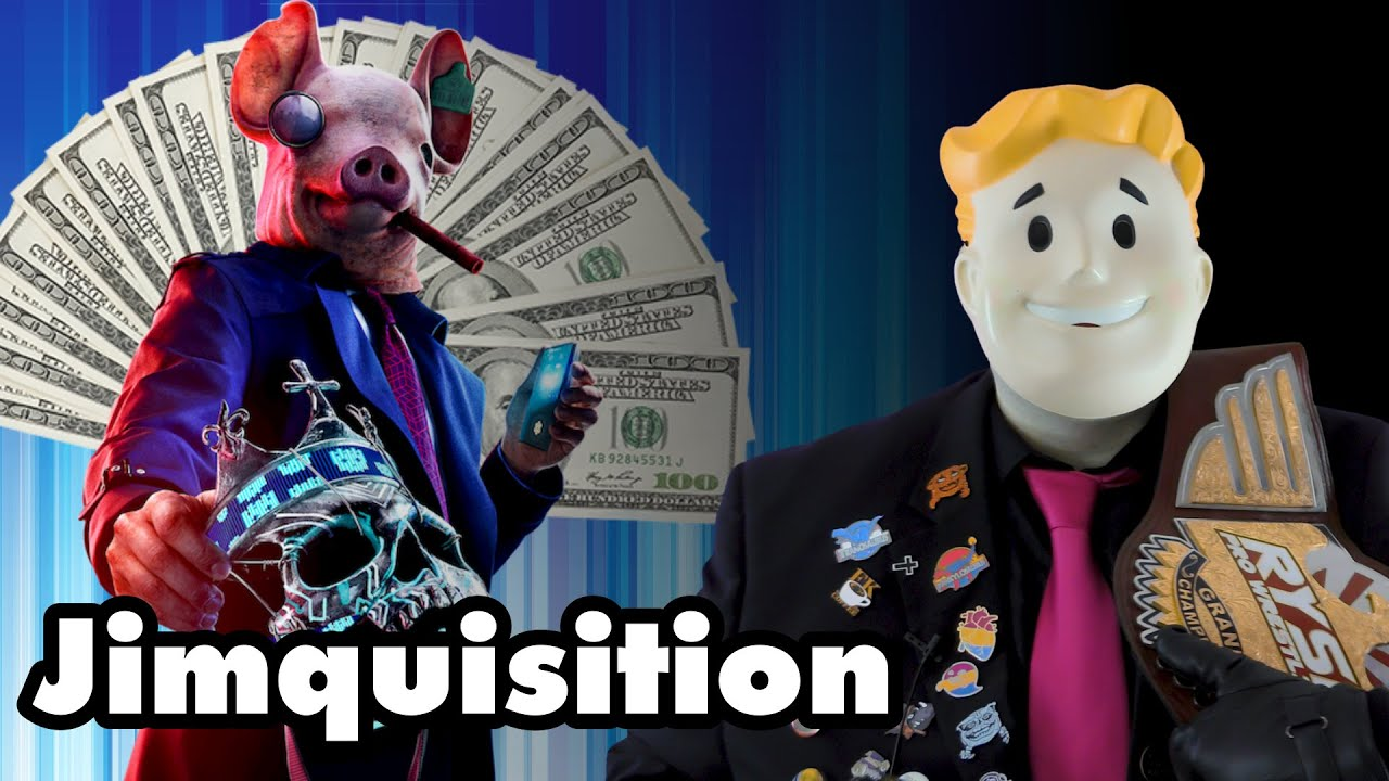 A Video About Playing Videogames From Terrible Companies (The Jimquisition)