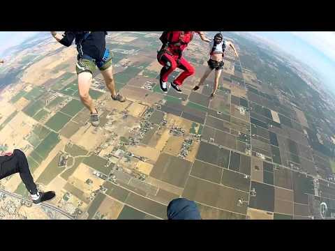 Skydiving Fun Jumps With TJ Landgren & Friends