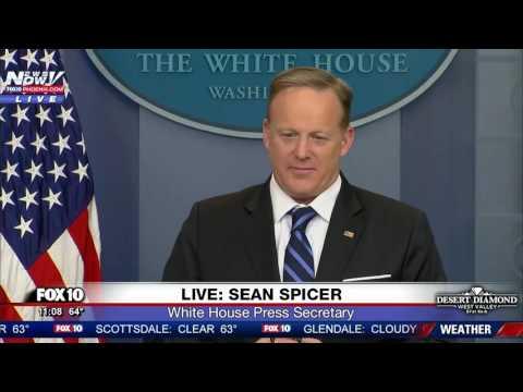 FULL: Sean Spicer White House Press Briefing 2/22/17