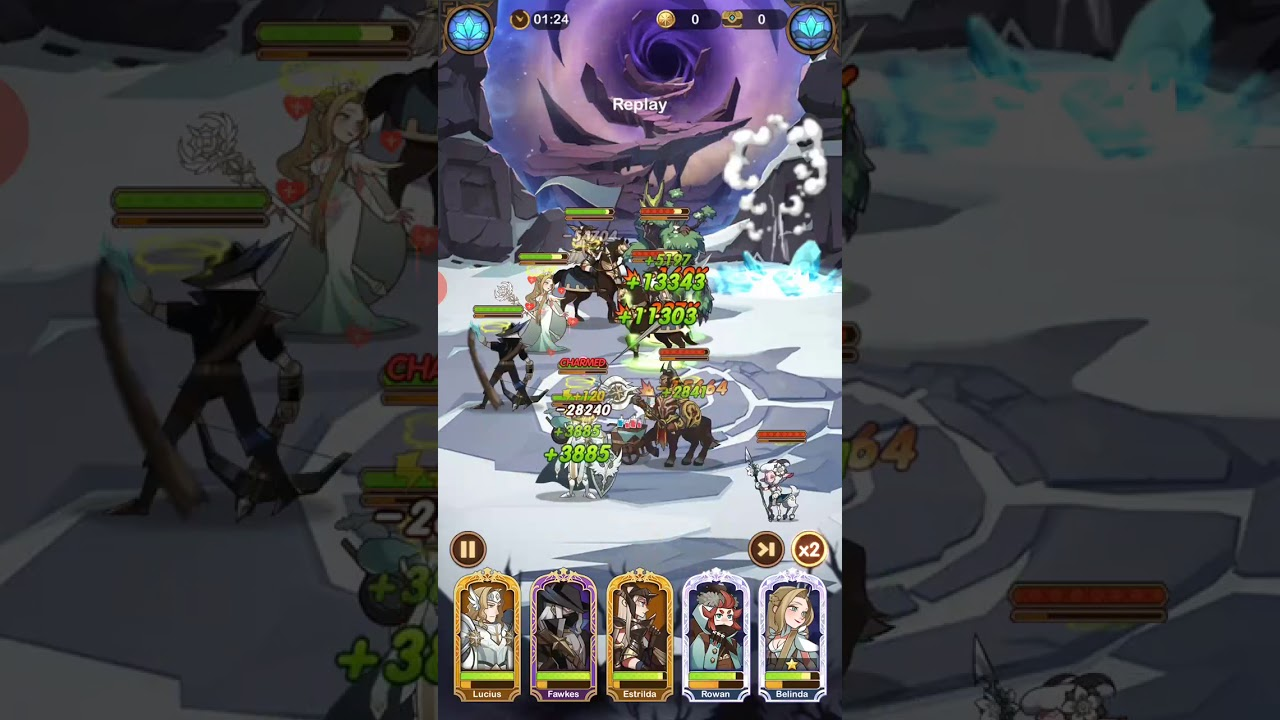 Afk arena stage 25-32 - YouTube