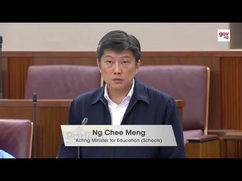 How students under investigation are managed - Acting Minister Ng Chee Meng