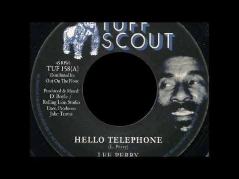 Lee 'Scratch' Perry 'Hello Telephone' Tuff Scout Records TUF 158 EXCLUSIVE!