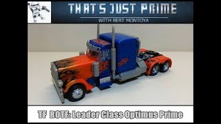 Transformers Revenge of The Fallen: Leader Class Optimus Prime Review!