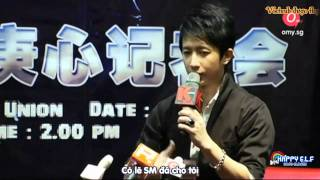 [Vietsub] 101001 Hangeng Singapore Press Conference [Cut] [SuJu-ELF.com]