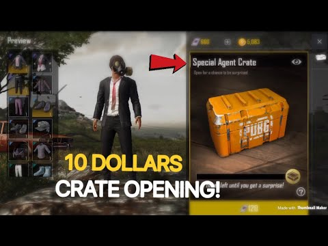Spending 10 Dollars On Crates! | PUBG Mobile Global | Gucci Outfit