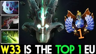 w33 dota 2 juggernaut tryhard training to top 1 eu