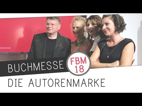 FBM18 // Gesprächsrunde: Aufbau einer Autorenmarke