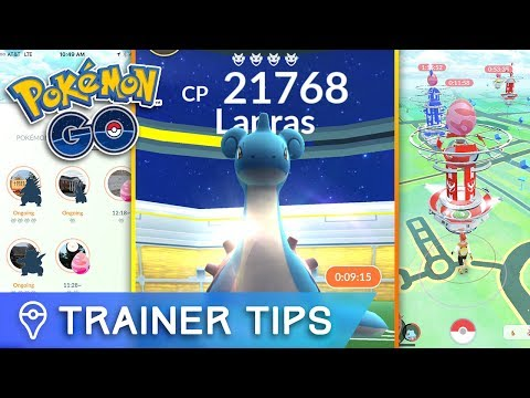 POKÉMON GO LEVEL 4 LAPRAS RAID BOSS LIVE VOD