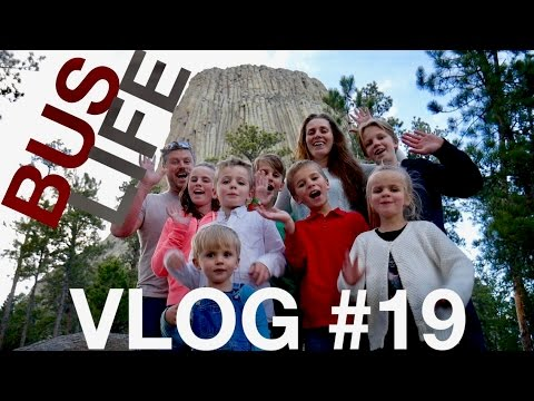 Exploring Devil's Tower | Traveling Across North America | Bus Life