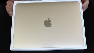 "Apple New Macbook Retina 12"" Gold: Unboxing and Impressions"
