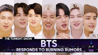 Bts Responds To Rumors About Their Fan Base And Potential Stage Names The Tonight Show MP3