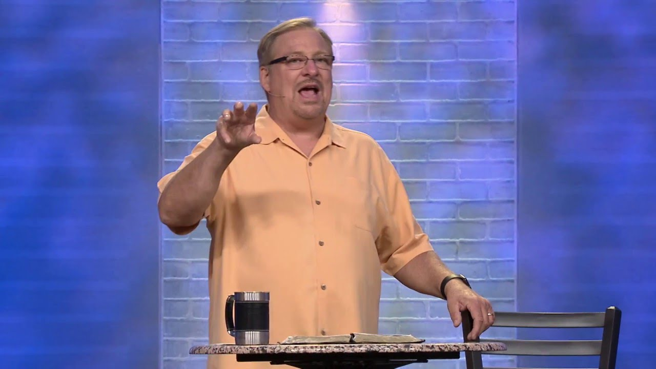 Learn How To Be An Agent of Mercy with Rick Warren