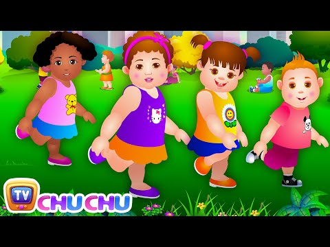 Head, Shoulders, Knees & Toes  Exercise Song For Kids